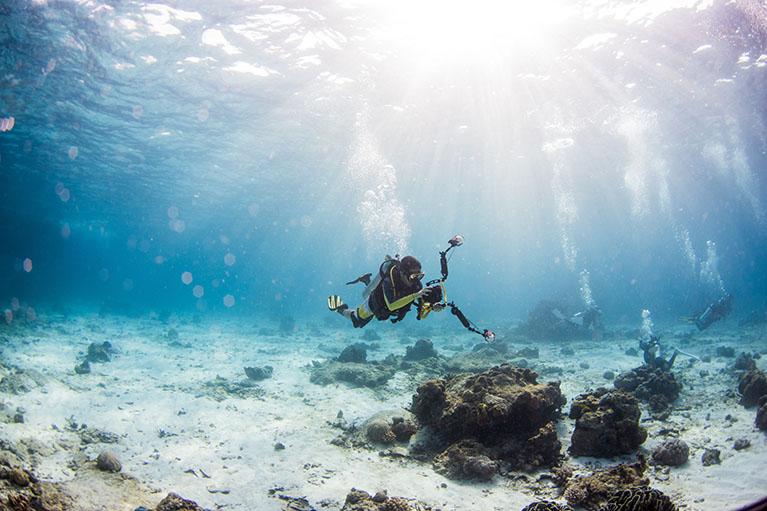 Triton scuba diving 3.1