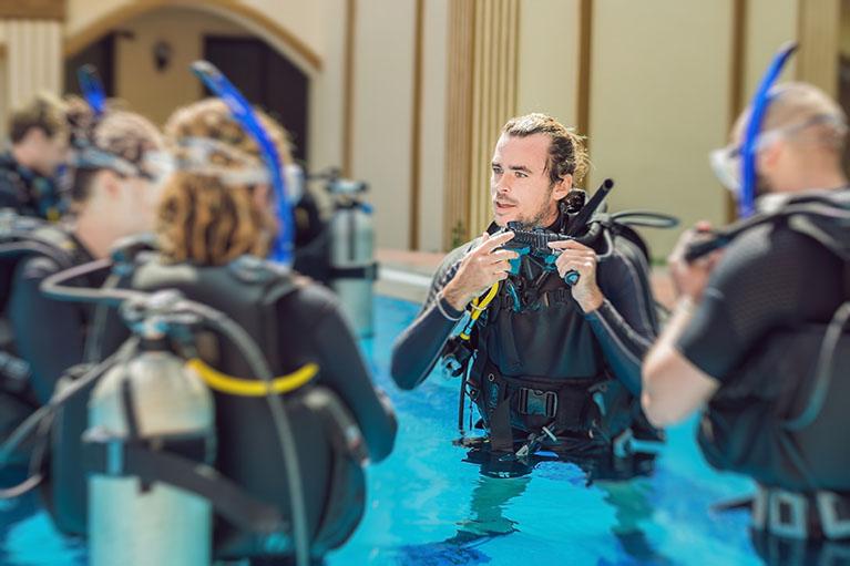 Triton scuba diving 5.1