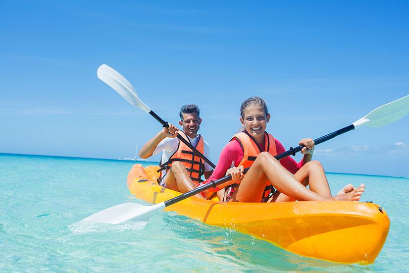 Triton Luxury Villa Kayaking 1